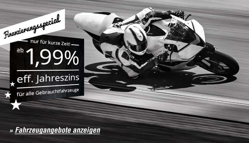 Motorrad Finanzierung Angebot
