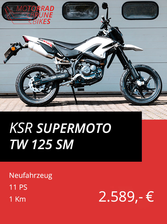 KSR TW 125 SM Supermoto