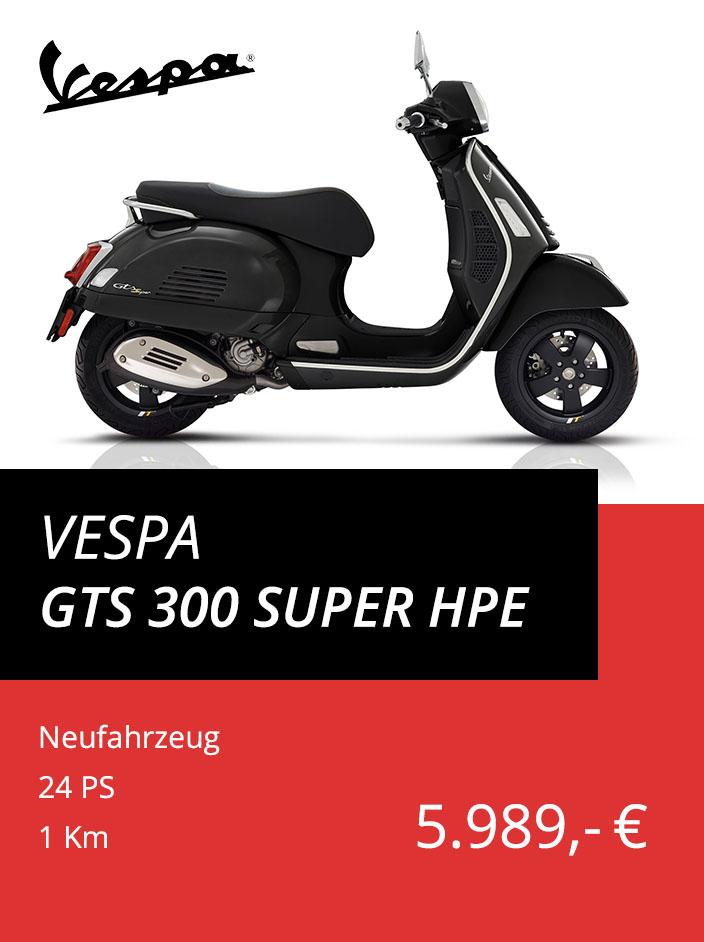 Vespa GTS 300 Super hpe ABS ASR