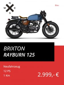 Brixton Rayburn 125