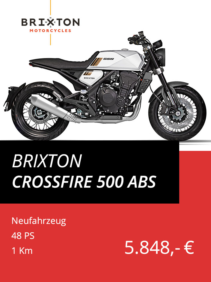 Brixton Crossfire 500 ABS