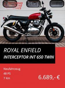 Royal Enfield Interceptor INT 650 Twin
