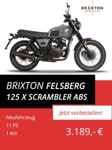 Brixton Felsberg 125 X Scrambler ABS