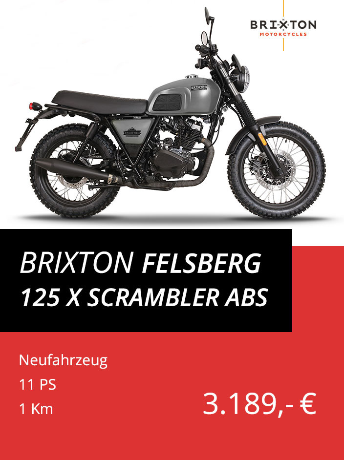 Brixton Felsberg 125 grau