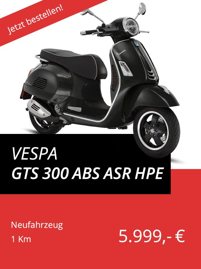 Vespa GTS 300 ABS ASR hpe
