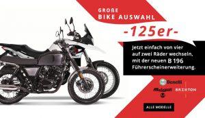 125er Motorrad Modelle