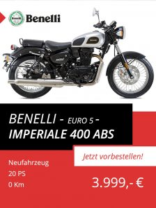 Benelli Imperiale 400 ABS Euro 5