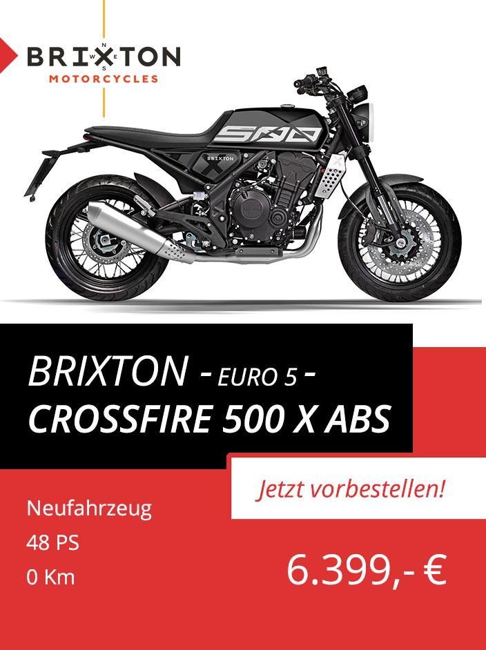 Brixton Crossfire 500 X ABS Euro 5