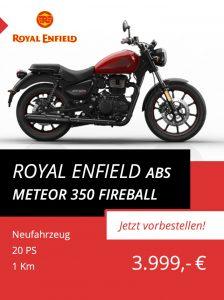 Royal Enfield Meteor 350 ABS Fireball