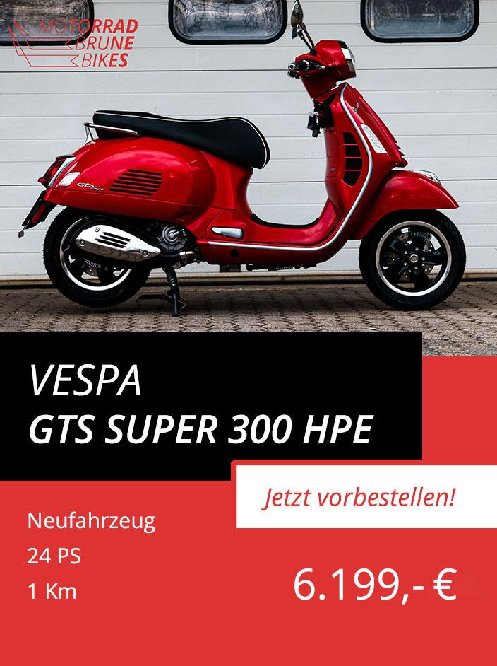 Vespa GTS 300 ABS ASR Super hpe Euro5