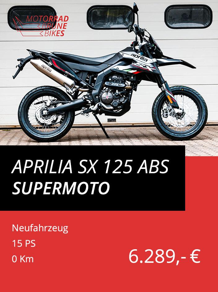 Aprilia SX 125 ABS Supermoto