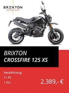 Brixton Crossfire 125 XS