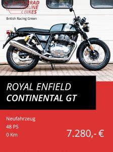 Royal Enfield Continental GT British Racing Green
